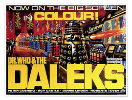 Poster Premium  DR. WHO AND THE DALEKS