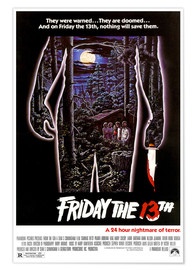 Poster Premium FRIDAY THE 13TH
