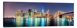 Tela  New York City Skyline, panoramic view - Sascha Kilmer