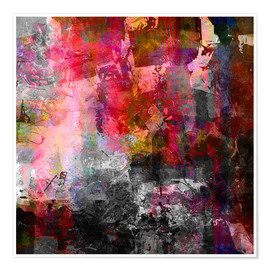 Poster Premium  Abstract No. 105 - Wolfgang Rieger