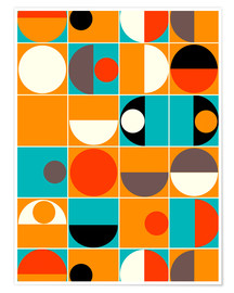 Poster Premium  Panton Pop - Mandy Reinmuth