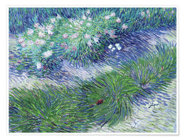 Poster Premium  Butterflies and Flowers - Vincent van Gogh