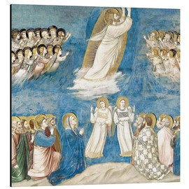 Stampa su alluminio  The Ascension of Christ - Giotto di Bondone