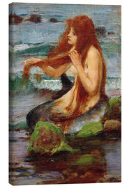 John William Waterhouse - Una sirena