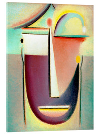Stampa su vetro acrilico  Abstract head: Archetype - Alexej von Jawlensky