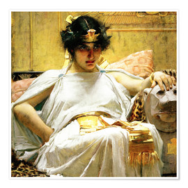 Poster Premium  Cleopatra - John William Waterhouse