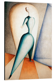 Alluminio Dibond  The Dancer - Oskar Schlemmer