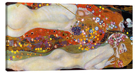 Tela  Water Serpents II - Gustav Klimt