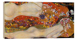 Legno  Water Serpents II - Gustav Klimt