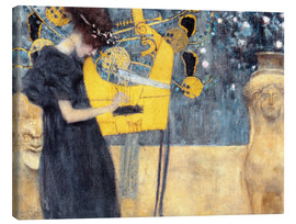 Tela  The Music - Gustav Klimt