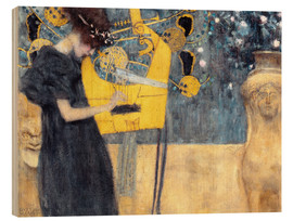 Legno  The Music - Gustav Klimt