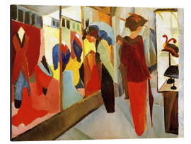 Stampa su alluminio  Fashion Store - August Macke