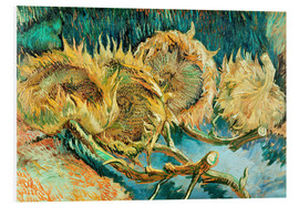 Forex  Four Cut Sunflowers - Vincent van Gogh