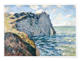 Poster Premium  the manneport - Claude Monet