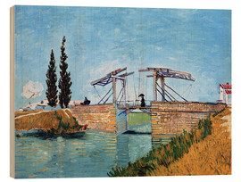 Legno  The drawbridge in Arles - Vincent van Gogh