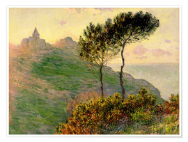 Poster Premium  The church of Varengeville - Claude Monet