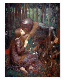Poster Premium  La Belle Dame sans Merci - John William Waterhouse