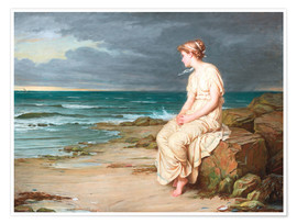 Poster Premium  Miranda - John William Waterhouse