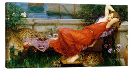 Stampa su tela  Ariadne - John William Waterhouse