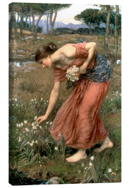 Stampa su tela  Narciso - John William Waterhouse