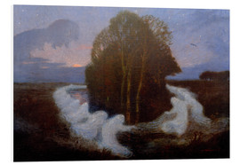 Stampa su schiuma dura  Dance of the Elves - Otto Modersohn