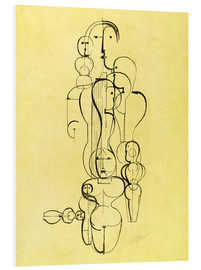 Stampa su schiuma dura  The Abstract - Oskar Schlemmer