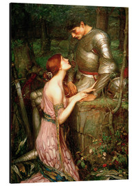 Stampa su alluminio  Lamia - John William Waterhouse