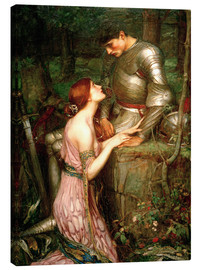 Stampa su tela  Lamia - John William Waterhouse
