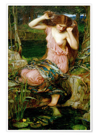 Poster Premium  Lamia - John William Waterhouse