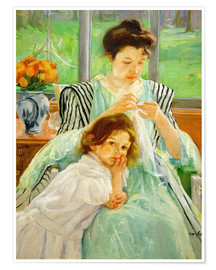 Poster Premium mother and child