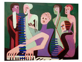 Forex  Singing Pianist - Ernst Ludwig Kirchner