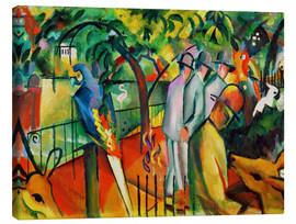Tela  Zoological garden - August Macke