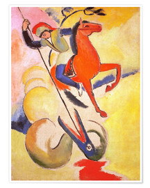 Poster  St. George - August Macke