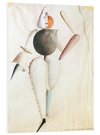 Stampa su schiuma dura  Design for the Triadic Ballet - Oskar Schlemmer