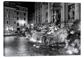 Tela  Trevi fountain in Rome - Filtergrafia
