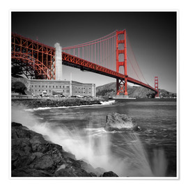 Melanie Viola - Golden Gate Bridge Fort Point