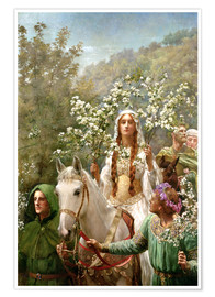 Poster Premium Queen Guinevere's Maying