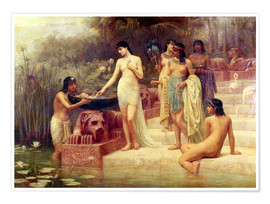 Poster Premium Pharaoh's Daughter - The Finding of Moses
