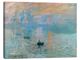 Tela  Sunrise - Claude Monet