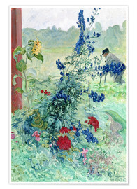Poster Premium  The Grandfather - Carl Larsson