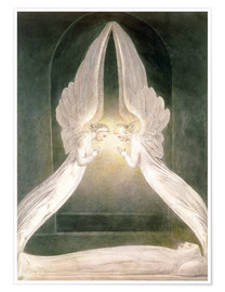 Poster Premium Christ in the Sepulchre, Guarded by Angels