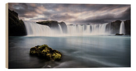 Legno  Godafoss Waterfall in Iceland - Andreas Wonisch