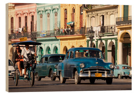 Legno  classic us cars in havanna, cuba - Peter Schickert