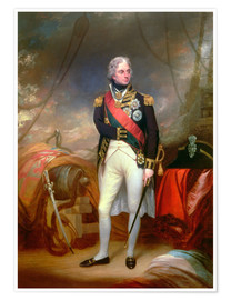 Poster Premium Horatio Visconte Nelson 1801