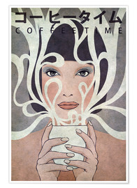 Poster Premium Coffee time