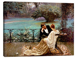 Stampa su tela  The Pride of Dijon - William John Hennessy