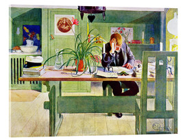Vetro acrilico  The Study Room - Carl Larsson