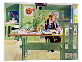 Forex  The Study Room - Carl Larsson