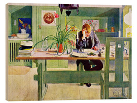 Legno  The Study Room - Carl Larsson