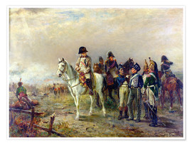 Poster Premium  The Turning Point at Waterloo - Robert Alexander Hillingford